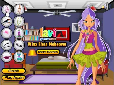 Прогождение игры для девочек Винкс новые серии
