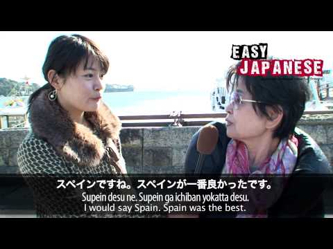 Easy Japanese 6 - Tourism