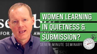 Why Women Must Learn in Quietness and Submission: Xenophon of Ephesus and 1 Timothy 2 (Gary Hoag)