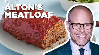 Alton Brown Makes His Good Eats Meatloaf | Food Network