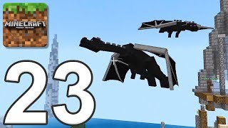 Minecraft: Servers - Gameplay Walkthrough Part 23 - Dragons (iOS, Android)