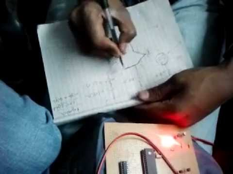 Solar tracker (using microcontroller) circuit.mp4