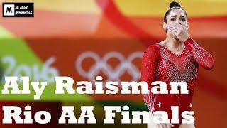 Aly Raisman Rio AA Finals Compilation - VT UB BB FX