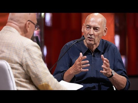 "Interview with Rem Koolhaas at MUF 2018 ""Moscow, Archeology of the Future"" (English)"
