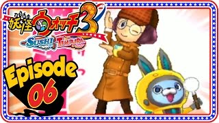 Yo-Kai Watch 3 Sushi and Tempura - Episode 6 | Inaho Chapter 4 + Giveaway! [Nintendo 3DS Gameplay]