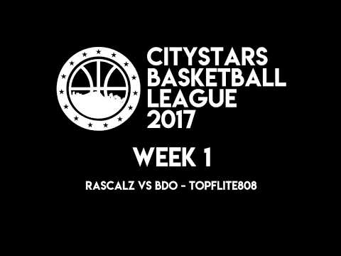 CityStars League: Rascalz vs Top Flite 808