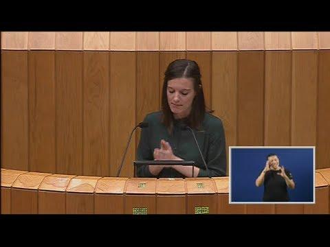 Intervención de Olalla Rodil para defender as 40 propostas de resolución do BNG