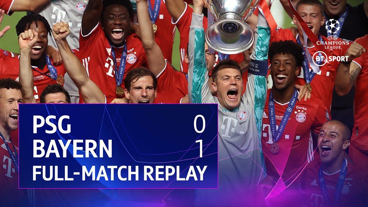 PSG vs Bayern Munich (0-1) | UEFA Champions League Final ...