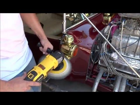 """National Overspray Removal Services""""Spray paint overspray removal 1923 Ford T-Bucket"""""""
