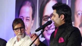 Neela Aasman - Singer Sumeet Tappoo sings to Amitabh Bachchan