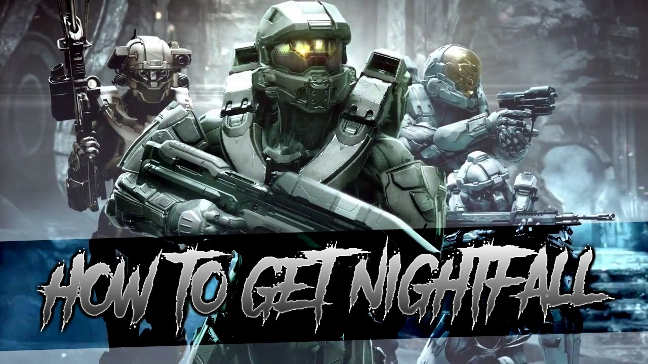 How To Unlock The Nightfall Armor In Halo 5 Youtube