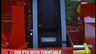 ΘΡΥΜΜΑΤΙΣΤΗΣ ΚΛΑΔΙΩΝ ΚΑΤΑΣΤΡΟΦΕΑΣ TP 200 PTO TURNTABLE