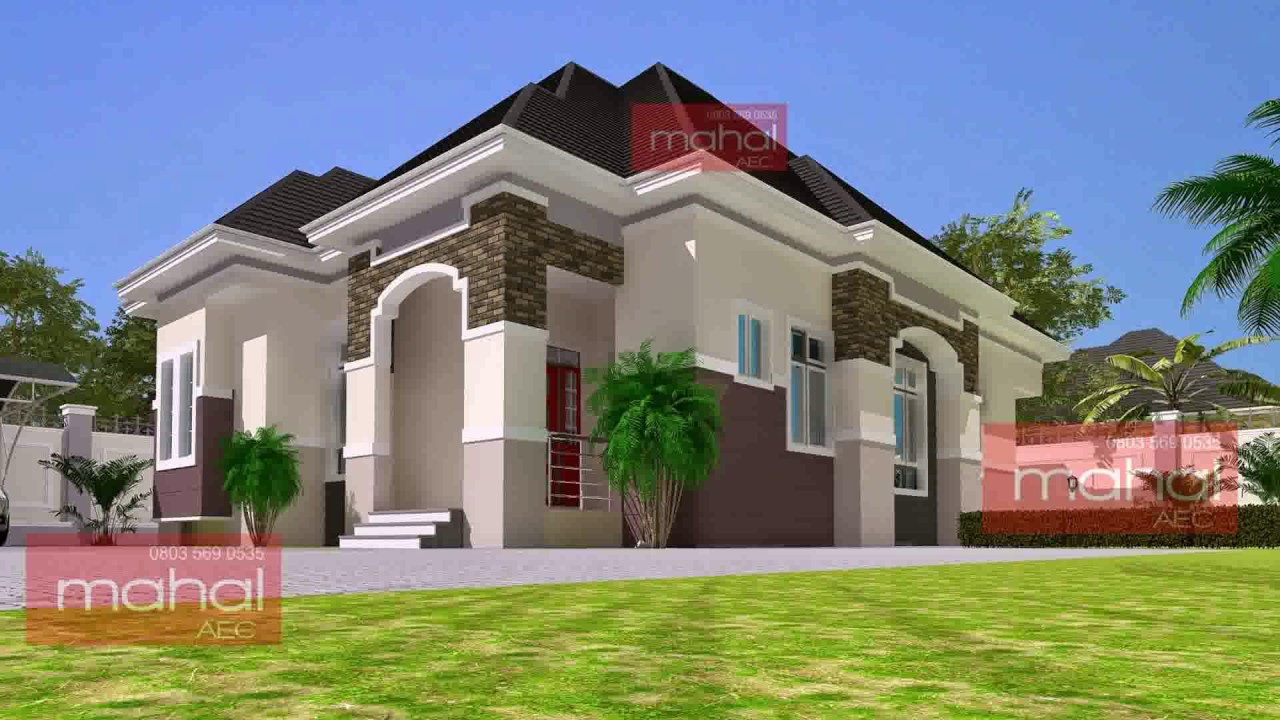 3 Bedroom Duplex House Plans In Nigeria Youtube