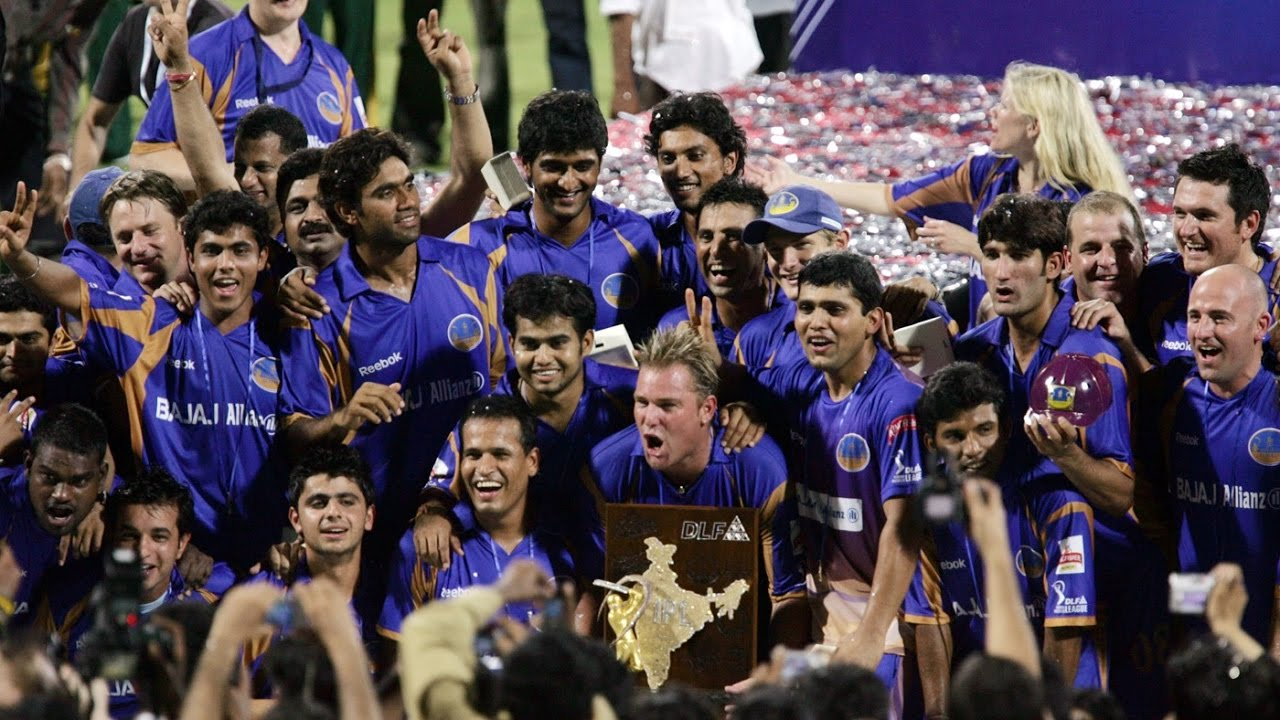 Image result for Rajasthan Royals inaugural IPL win""