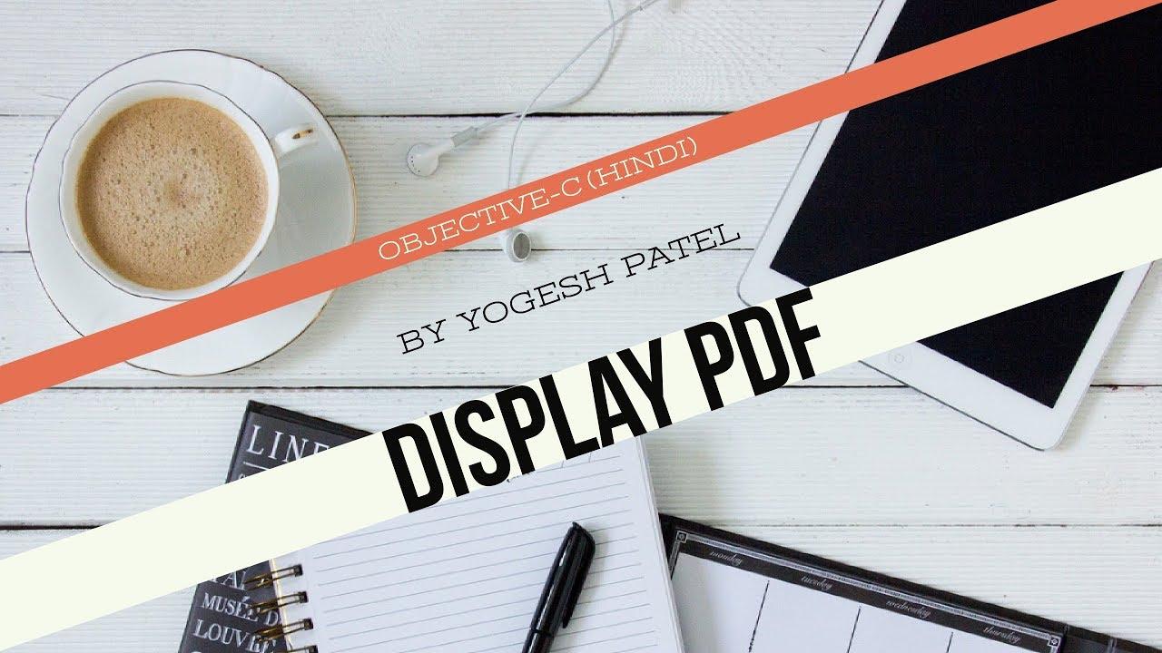 Tutorial pdf c objective