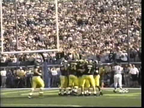 2000: Michigan 58 Indiana 0