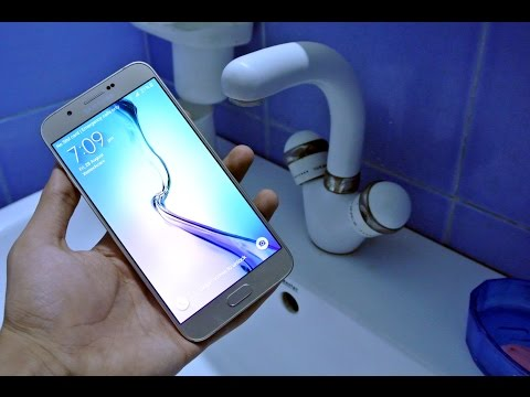 Samsung Galaxy A8 - Water Test HD