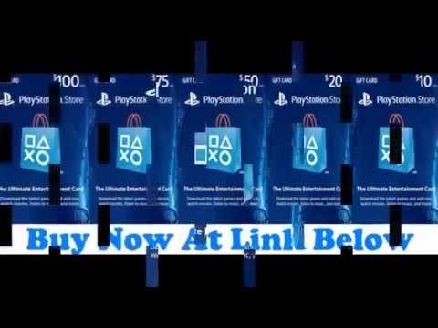 $10 PlayStation Store Gift Card PS3 PS4 PS Vita Digital Code - YouTube