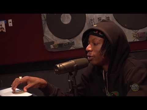 Joey Bada$$ Recites Kanye West's McDonalds Poem w/ Megan Ryte