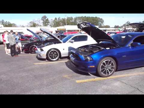 Cars & Coffee in Hinesville Ga 2/25/17