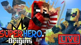 NEW SUPERSUIT!!! Super Hero Origins LIVE #19.1 (Modded Minecraft Roleplay)