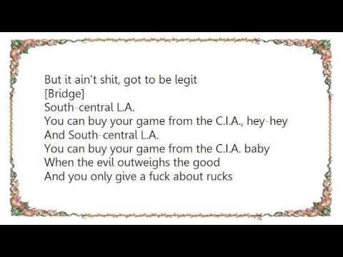 Ice Cube - Penitentiary Lyrics