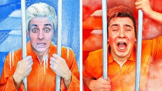 COLD vs HOT Prison Challenge !