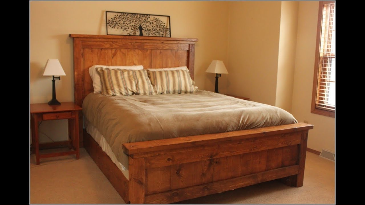 Teak Bed Frame Design Ideas Youtube