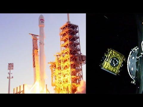 SpaceX Falcon 9 EchoStar 105/SES-11 satellite deployment, 11 October 2017