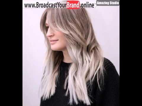 Long Choppy Layered Haircut With Bangs Youtube