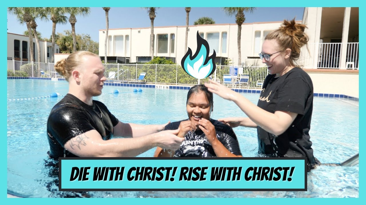 They drove from Tampa, FL to be baptized in water and the HOLY SPIRIT!!!