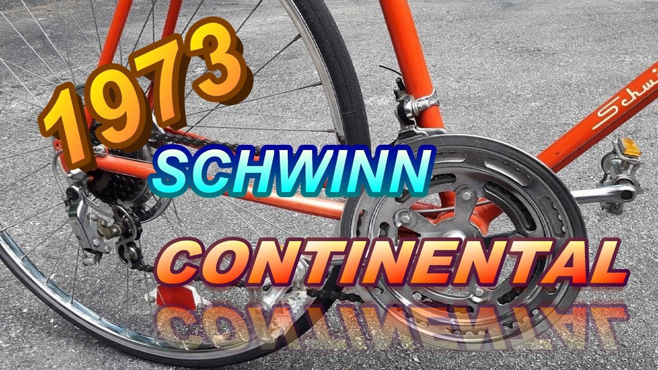 1973 SCHWINN CONTINENTAL PART ONE