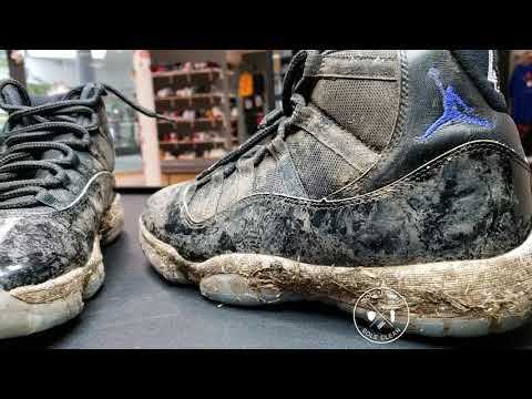 How to Clean Air Jordan 11 Space Jam Sole Fresh Sole Clean