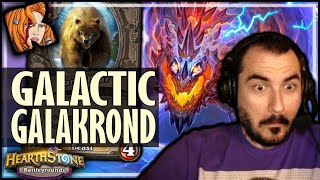 THE NEW GALAKROND GALACTIC ROLL! - Hearthstone Battlegrounds