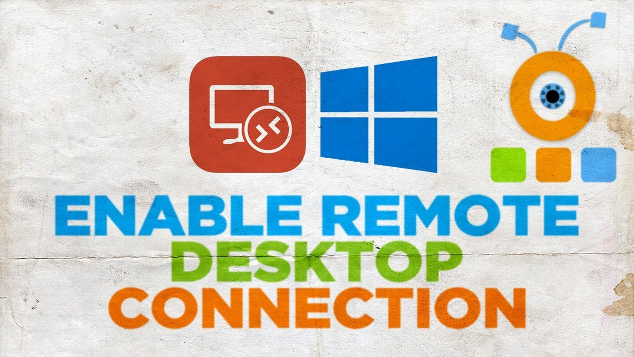 How to Enable Remote Desktop Connection on Windows 10   How to Turn On  Remote Desktop in Windows 10