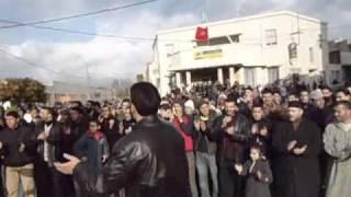 شباب العدل والاحسان ينظم احتجاجات شعبية بمدينة تازة 20 فبراير 2011