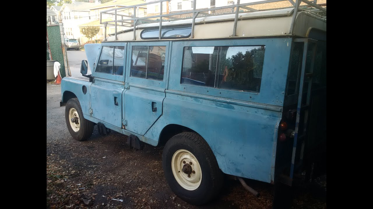 awesome awesome 1979 land rover 109 series iii for sale youtube. Black Bedroom Furniture Sets. Home Design Ideas