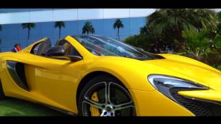 McLaren's at the Gulf Concours, Burj Al Arab 2016