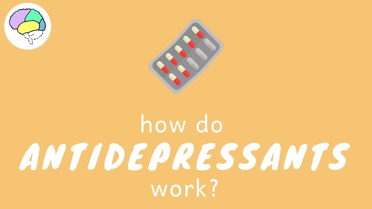 HOW DO ANTIDEPRESSANTS WORK?    SSRIs