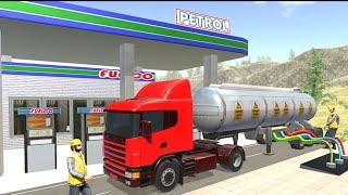 Oil Tanker Truck Driver 3D   Free Truck Games 2020 screenshot 4