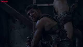 Смерть Гая Клавдия Глабра - ( Спартак Месть )