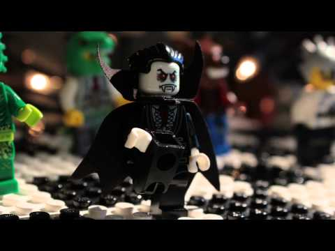 LEGO® ReBrick Halloween Competition - Monster Fighters Party Crashers