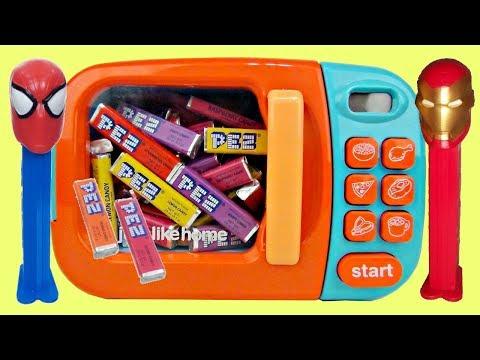 SUPERHEROES Pez Dispensers & Magic Microwave | Toys Unlimited