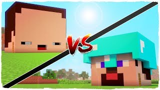NOOB house vs PRO house - MINECRAFT