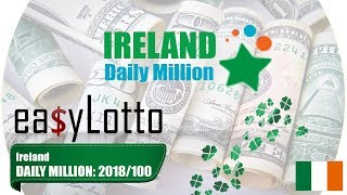 Ireland DAILY MILLION lotto results 20 Feb 2018   14:00
