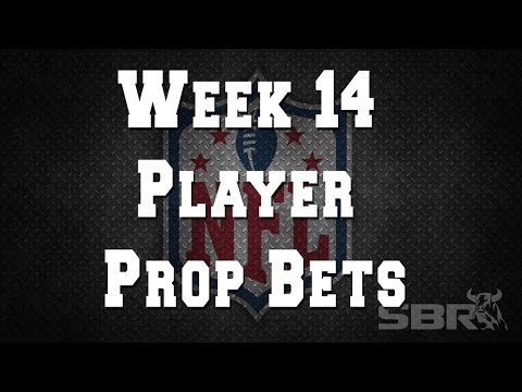 Week 14 NFLPlayer Prop PIcks with Sportsbook Review's Jordan Sharp