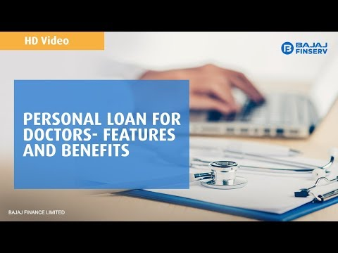 Personal Loan for Doctors in India – Loan up to Rs  30 Lakh