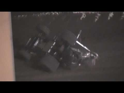 Sprint Car Crashes @ Thunderbowl Raceway 10/21/16