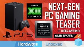 News Corner   PS5, Xbox Series X vs PC Hardware, DX12 Ultimate, AMD Demos RDNA2 Ray Tracing