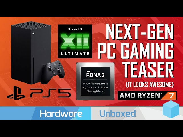 News Corner | PS5, Xbox Series X vs PC Hardware, DX12 Ultimate, AMD Demos RDNA2 Ray Tracing